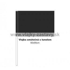 Smútočná vlajka 60x90cm