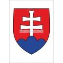 Štátny znak SR papierový ( tvrdý, lesklý papier)