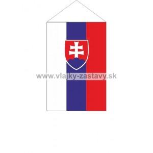 Vlajka stolová SR 11x16,5cm
