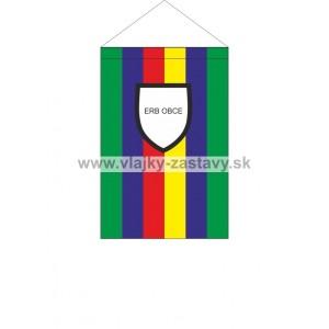 Vlajka stolová obecná 11x16,5cm