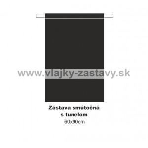 Smútočná zástava 60x90cm