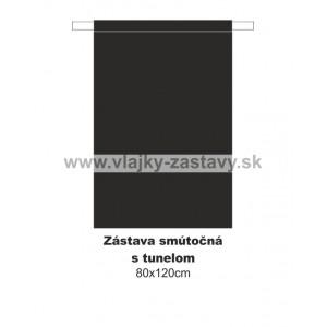 Smútočná zástava 80x120cm