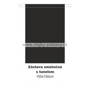 Smútočná zástava 100x150cm